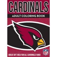 Arizona Cardinals NFL Adult Coloring Book