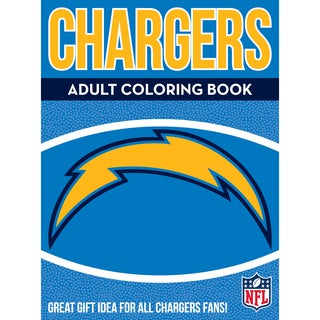 Los Angeles Chargers NFL Adult Coloring Book