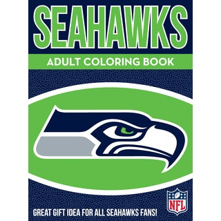 Seattle Seahawks NFL Adult Coloring Book
