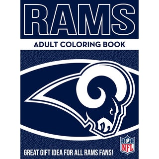 Los Angeles Rams NFL Adult Coloring Book