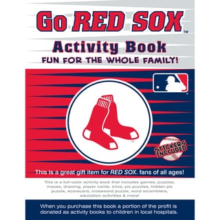 In the Sports Zone The Go Red Sox Activity Book