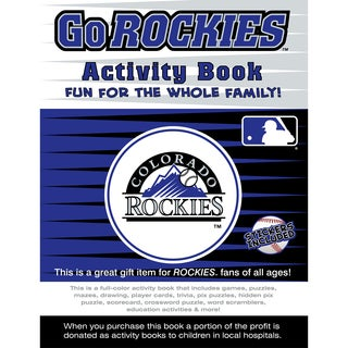 In the Sports Zone The Go Rockies Activity Book