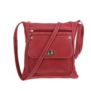 Crossbody Messenger Bag Faux Leather