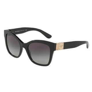Dolce & Gabbana Women's DG4309 501/8G 53 Grey Gradient Square Sunglasses