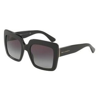 Dolce & Gabbana Women's DG4310 501/8G 52 Grey Gradient Square Sunglasses