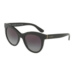 bc37c3abfd1 Shop Dolce   Gabbana Women s DG4311 501 8G 51 Grey Gradient Oval Sunglasses  - Free Shipping Today - Overstock.com - 18012775