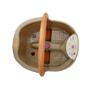 Soozier Foot Bath Spa or Massager with Bubble Heating - SAND