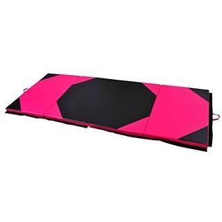 Soozier PU Leather Gymnastics Tumbling & Martial Arts Folding Mat|https://ak1.ostkcdn.com/images/products/18013029/P24182641.jpg?impolicy=medium