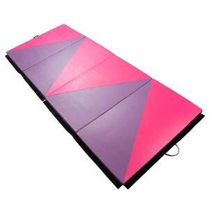 Soozier PU Leather Gymnastics Tumbling & Martial Arts Folding Mat|https://ak1.ostkcdn.com/images/products/18013030/P24182642.jpg?impolicy=medium