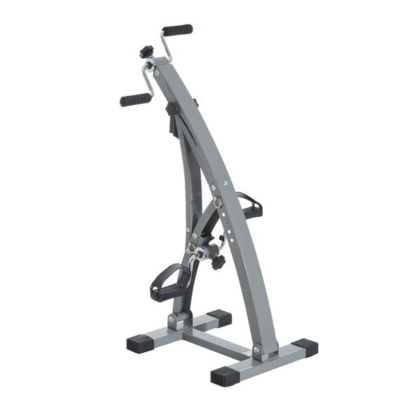 Soozier Upright Exercise Bike Total Body Recovery Training Machine