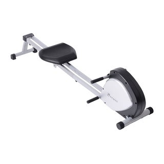 Soozier Indoor Rowing Machine with ABS Monitor - grey