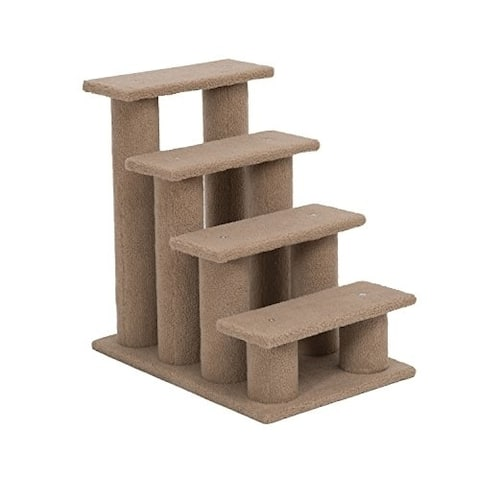 Pawhut Four Step Cat Tree Stairway Perch