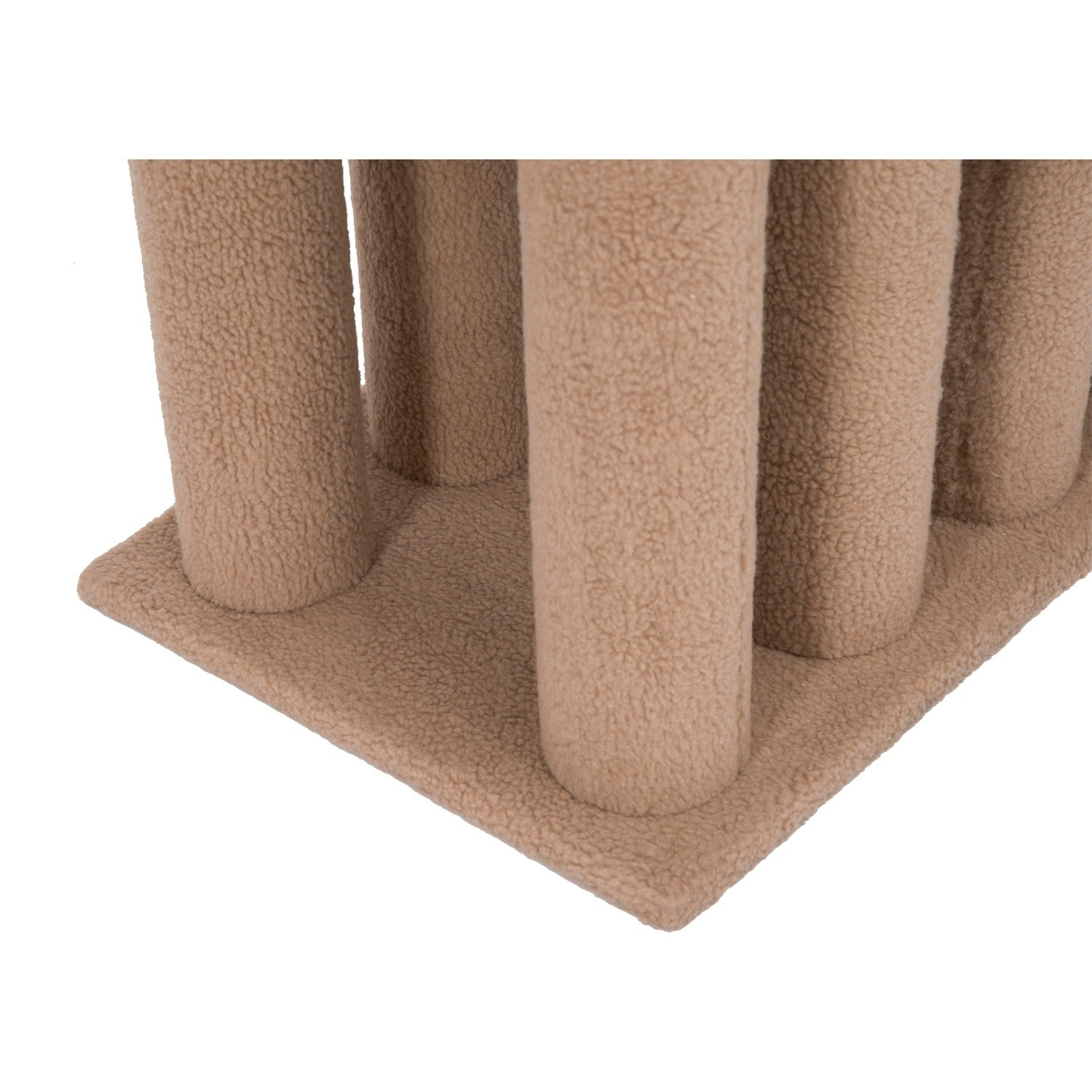 Aosom Pawhut Four Step Cat Tree Stairway Perch, Brown
