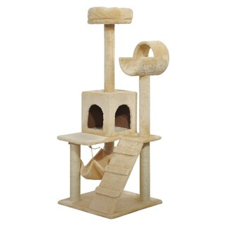 Pawhut Cat Tree with Hammock