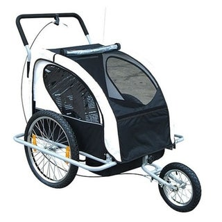 Link to Aosom 2 in 1 Double Child Bike Trailer and Stroller Similar Items in Cycling Equipment