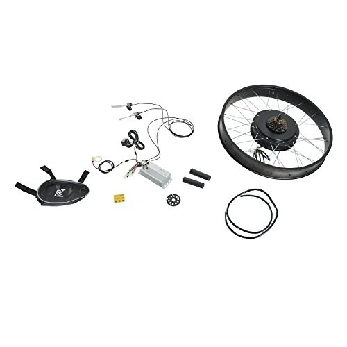 Aosom Front Wheel 48V 1000W Electric Battery Powered Bike Motor Conversion  Kit