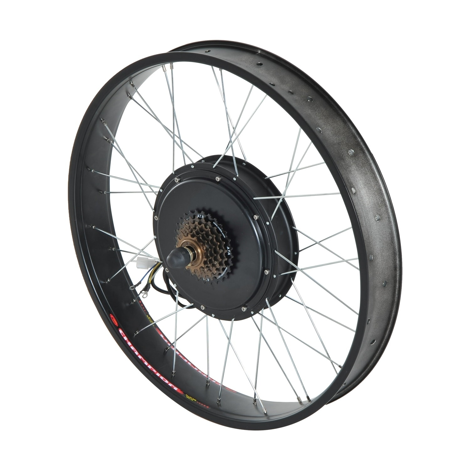 Aosom Rear Wheel 48V 1000W Electric Battery Powered Bicyc...
