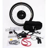 Aosom Rear Wheel 48V 1000W Electric Battery Powered Bicycle Motor Conversion Kit