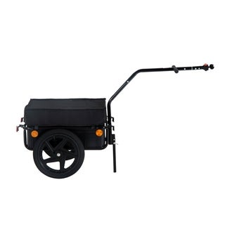 Aosom Double Wheel Internal Frame Enclosed Bicycle Cargo Trailer