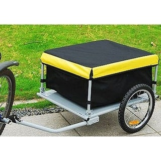 Aosom Bike Cargo Trailer