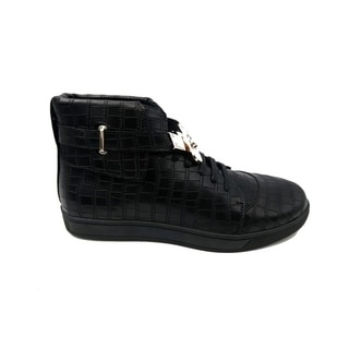 Mecca Men's High Top Shoe with Buckle-ME-2603