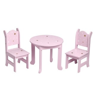 Olivia's Little World - Twinkle Stars Table & Chairs Set