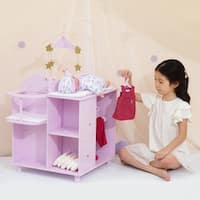 Olivia's Little World - Twinkle Stars Changing Station with Storage