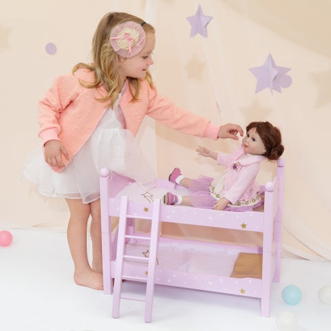 Olivia's Little World - Twinkle Stars Double Bunk Bed