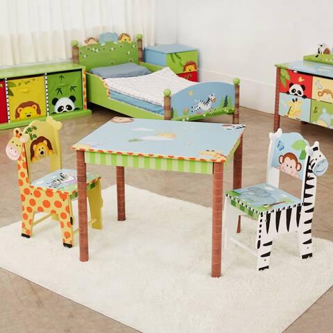 "Fantasy Fields - Sunny Safari Set of 2 Chairs - 11.5""W x 13""L x 26.75""H"