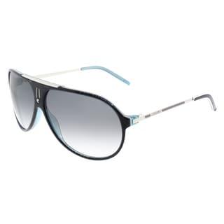 Carrera Aviator Hot/S YCE JJ Unisex Royal Blue Palladium Frame Grey Gradient Lens Sunglasses