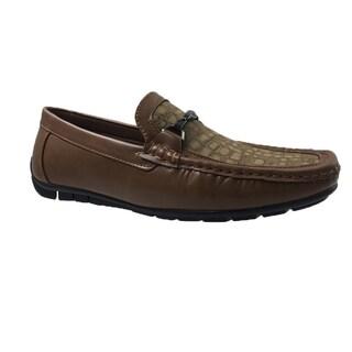 Mecca Mens Slip-On Loafer Driver Shoes-ME-4102