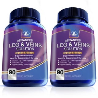 Circulation & Vein Solution for Healthy Legs (180 Capsules)
