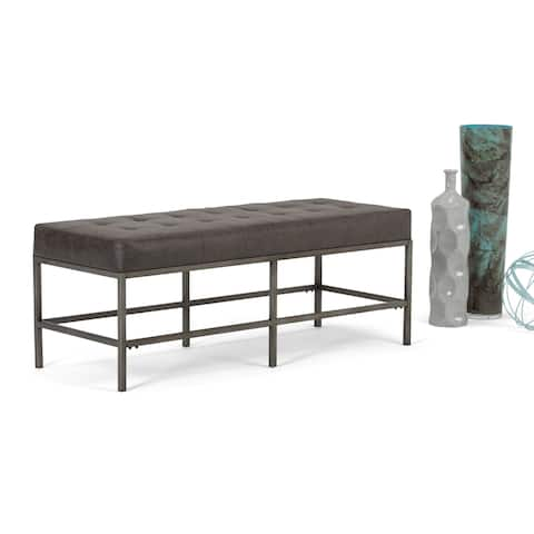 WYNDENHALL Seaton 48 inch Wide Contemporary Rectangle Ottoman Bench