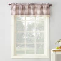No. 918 Maisie Plaid Kitchen Curtain Valance - 54x14