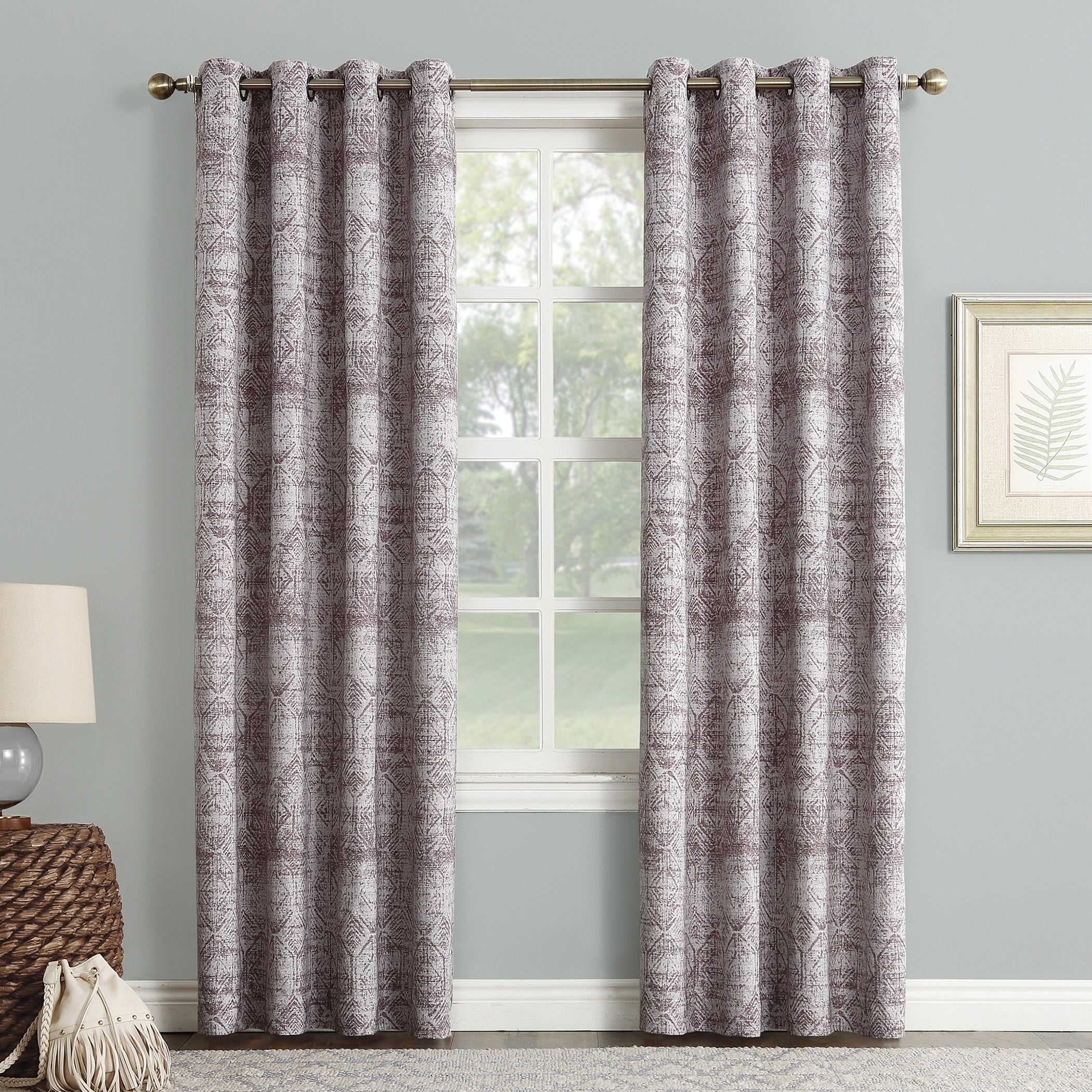 curtains grommet pair grey length bedroom gray overlay top walmart design incredible aurora lace cheap panel room curtain white home size blackout living in inches
