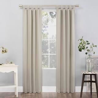 sun zero hayden tab top blackout panel - Hunter Green Curtains