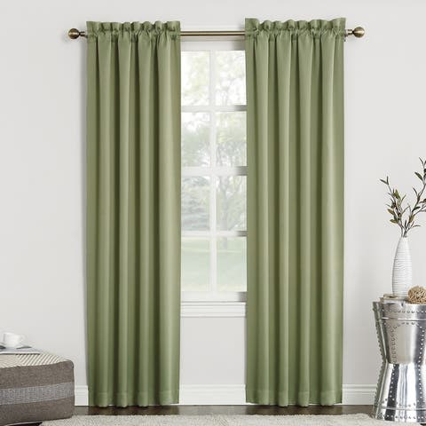 Buy Green 95 Inches Blackout Curtains Amp Drapes Online At