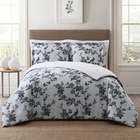 Style 212 Lisborn 3-Piece Printed Floral Comforter Sets