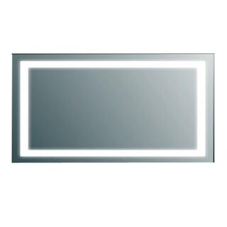 Eviva EVMR34-60X30-LED Lite Aluminum Wall-mounted Modern Bathroom Vanity Backlit Lighted LED Mirror