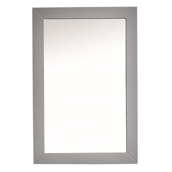 Eviva Acclaim Transitional Grey Bathroom Vanity Mirror