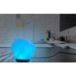 Himalite Polygon LED Salt Lamp