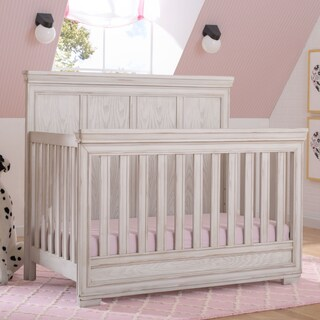 Simmons Kids Ravello Convertible Crib N More (Option: Antique White)