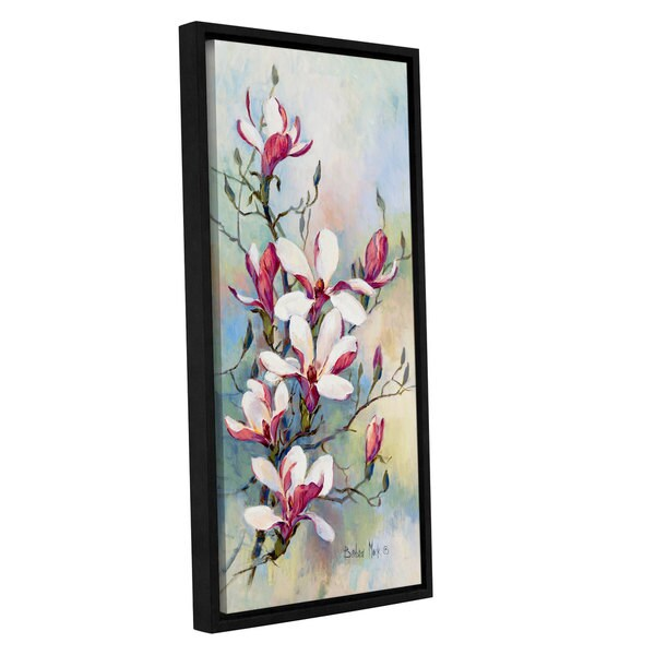 Barbara Mock \'Promise Of Spring I\' Gallery-wrapped Floater-framed ...