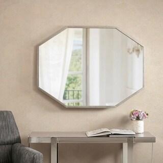 "Madison Park Ava Antique Silver Decor Mirror - Antique Silver - 40""W x 0.98""D x 30""H"