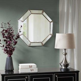 "Madison Park Signature Eleanor Antique Silver Decor Mirror - Antique Silver - 26.18""W x 3.93""D x 26.18""H"