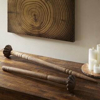 Madison Park Signature Natural Wooden Churner - Large