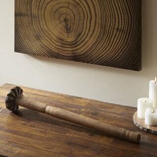 Madison Park Signature Natural Wooden Churner - Small