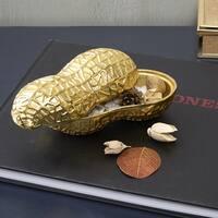 INK+IVY Peanut Gold Decorative Box - Medium