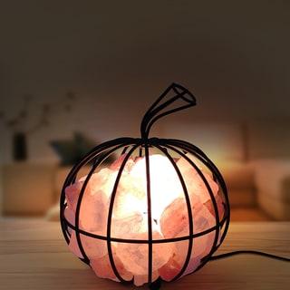 Himalite Pumpkin Himalayan Salt Lamp