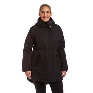 Champion Women's Plus Sherpa Lined Hooded Parka